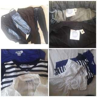 Maternity Dress Pants Set