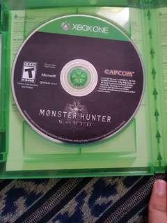 Xbox monster hunter world