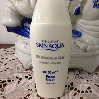Sunblock Skin Aqua For Face And Body