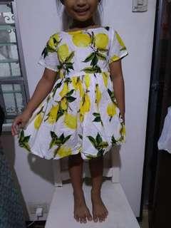 Cotton summer dress 4 to 5 yo