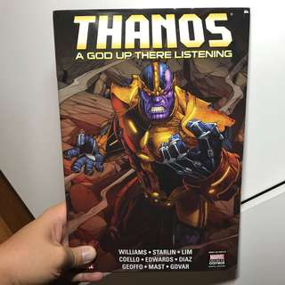 Thanos: A God Up There Listening Hardcover collection