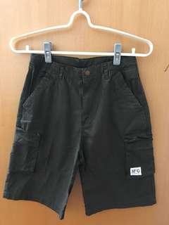 🚚 McGREGOR-全棉軍綠色平織鬆緊帶薄休閒褲14
