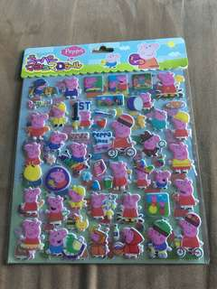 Peppa Pig Stickers (2 pages)