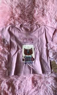 🚚 💠2018夏款~可愛貓咪圖案短袖T恤💠
