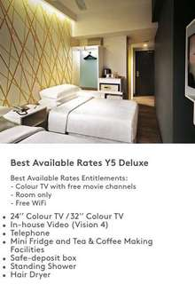 Genting First World Hotel - Y5 Deluxe Room
