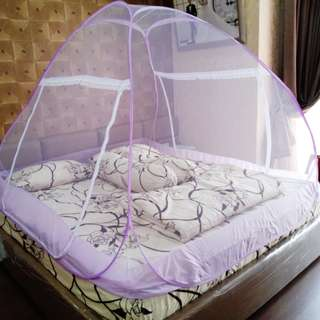 Golden Bed Canopy kelambu anti nyamuk 180x200 free ongkir