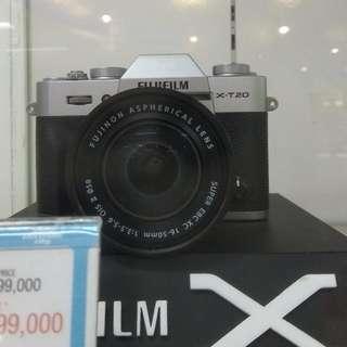 Fujifilm X-T20 16-55MM DP 0% + Free 1X Cicilan Tanpa Kartu Kredit