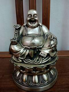 Old laughing buddha