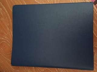 [Preloved] binder Bantex biru tua, jarang dipakai
