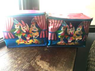 Vintage Lisa Frank Lunchboxes
