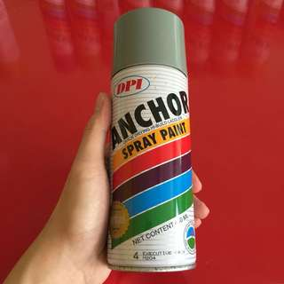 1 time used Anchor spray paint executive grey