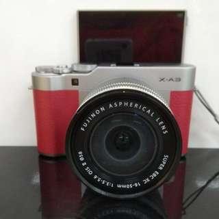 Fujifilm X-A3 + Free Instax Mini 8 DP 0% + Free 1X Cicilan Tanpa CC