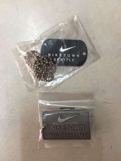 Niketown San Francisco + Seattle dog chains (brand new from USA)