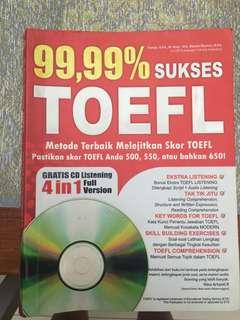 TOEFL Prep Book