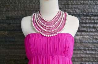 Coast Pink Pearl Dress