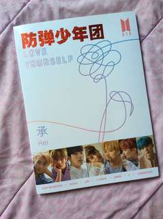 WTS BTS LOVE YOURSELF HER PHOTOBOOK