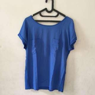 Blue Blouse | Blue Top