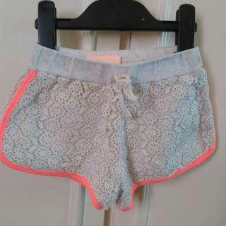 Gingersnaps Lace Shorts