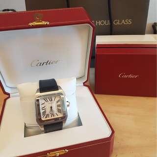 2017 Mint Cartier Santos 100 L