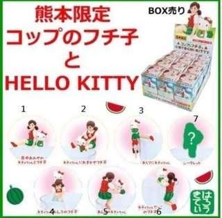 🚚 熊本限定 hello kitty杯緣