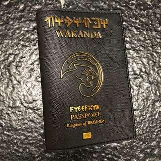 🚚 CUSTOM PASSPORT HOLDER WAKANDA AVENGERS black panther