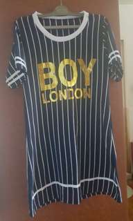 BN boy london stripes dress