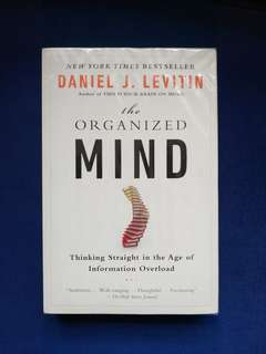 Pre-loved Book: The Organized Mind by Daniel J. Levitin