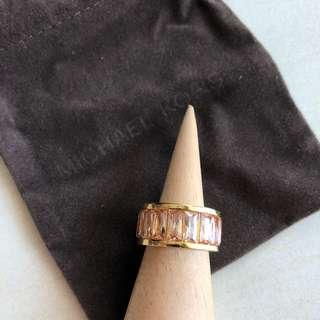 Michael Kors Brilliance Band Ring Size 6