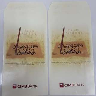 Angpao Packet Sampul Duit Raya CIMB Bank