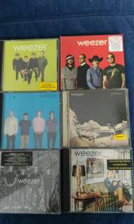 Weezer cd albums for sale