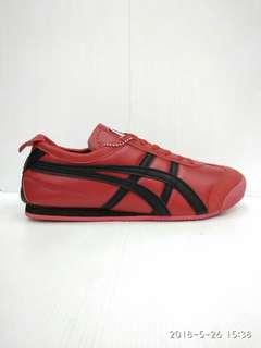 Asics Red Strip Black Premium