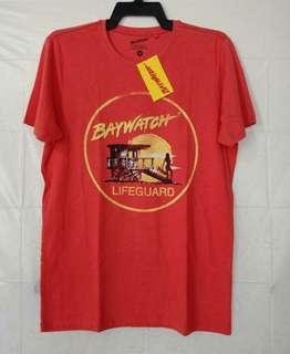 Original Baywatch Lifeguard Orange Tshirt