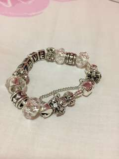 •brandnew• Pandora Inspired Bracelet and Charms 925 Silver