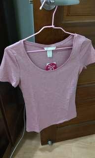 全新正版H&M圓領短袖T shirt