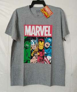 Original Marvel Comics The Avengers Gray T-Shirt