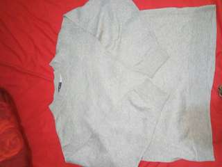 Uniqlo sweater grey