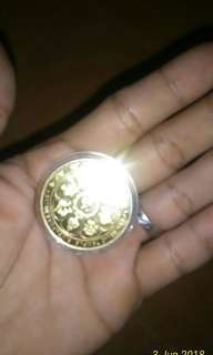 Koin siangapoer 2004 Gold