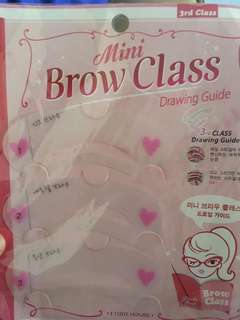 Brow class drawing guide