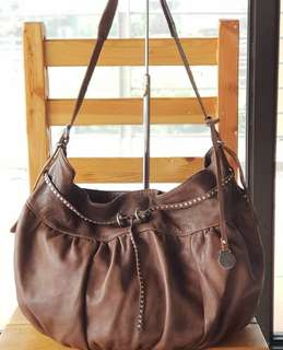 Authentic Rabeanco Brown Adjustable Sling