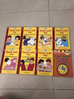 Read with me story books