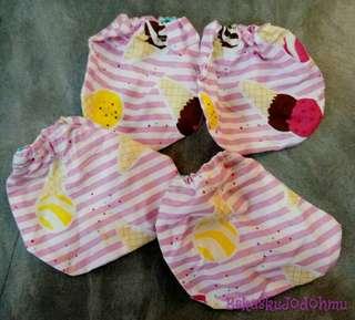 (Set) Sarung Tangan dan Kaki Bayi Custom