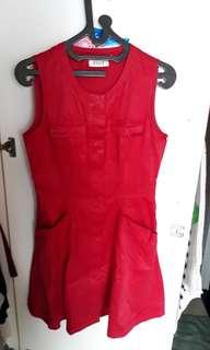 ELLE red dress