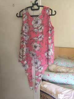 RAMADHAN CLEARANCE - soft pink floral too