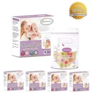 Autumnz Double ZipLock Breastmilk Storage Bag 5oz (5 x Pack of 28's)