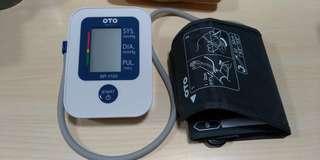 平放全新未用OTO血壓機!
