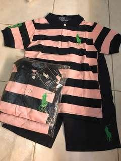 Polo Shirt & Pants Set