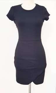 Factorie black mini dress