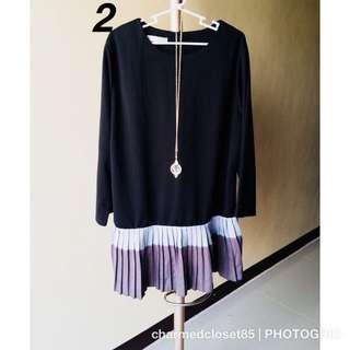 [DRESS] longsleeve dress fits S-M (can be worn as a tunic]