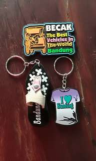Souvenirs from Bandung Indonesia