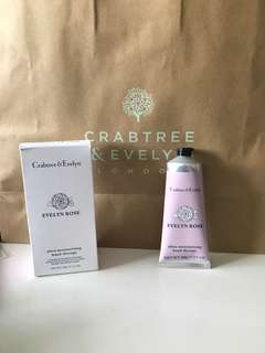 Crabtree And Evelyn 100ml Evelyn rose handcream